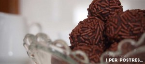 Trufes de xocolata