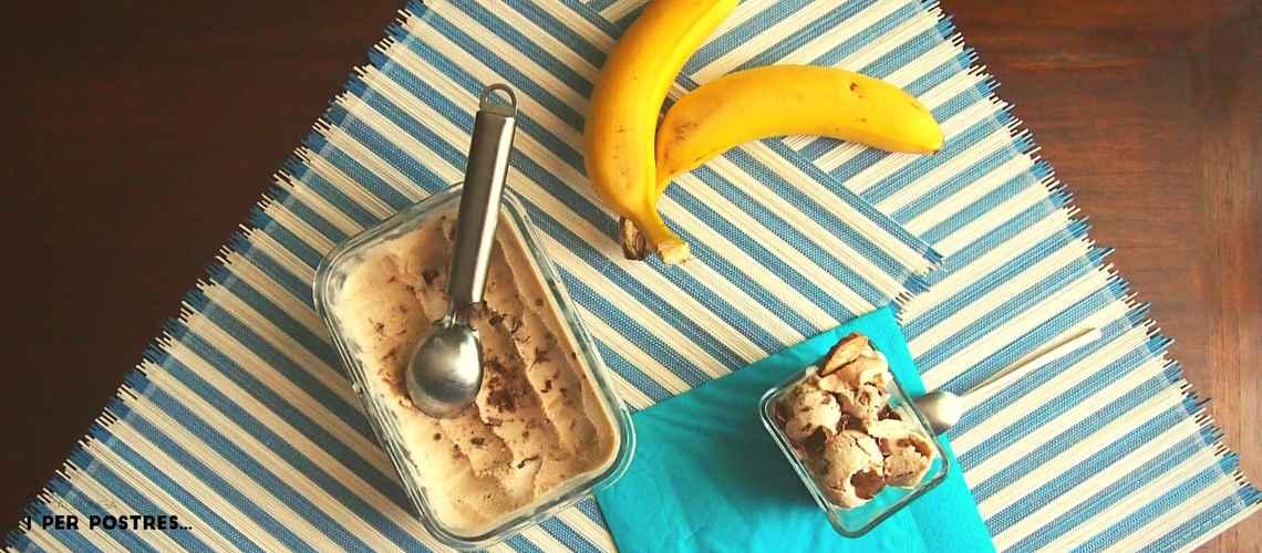 Banana stracciatella